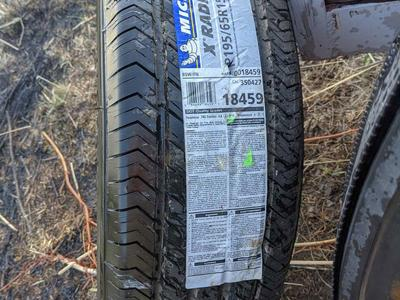 Michelin P195/65/15 new tire