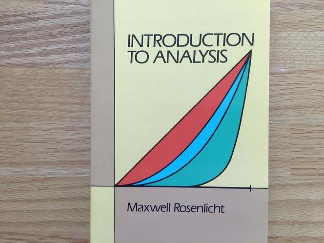 Introduction to Analysis, Maxwell Rosenlicht for sale in Salt Lake City , UT