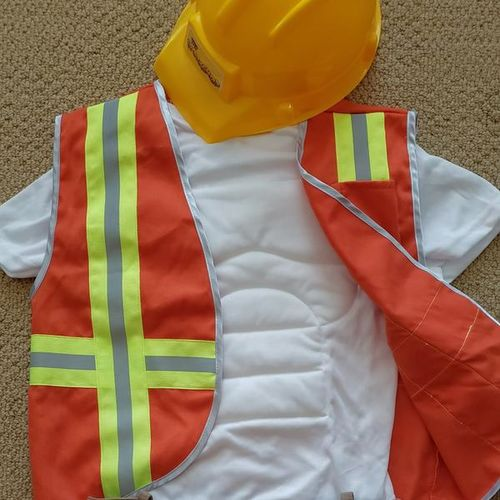Construction Worker Costume Size 6-8 for sale in Salt Lake City , UT