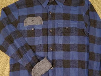 NWOT TAILOR VINTAGE BOYS FLANNEL SHIRT SZ 12
