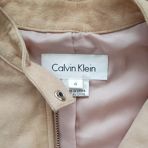 CALVIN KLEIN SUEDE JACKET SZ 4 for sale in Salt Lake City , UT
