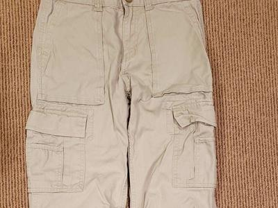 LANDS' END KIDS CARGO PANTS SZ 12