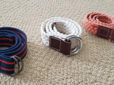 GAP KIDS BRAIDED BELT SZ SMALL/MEDIUM