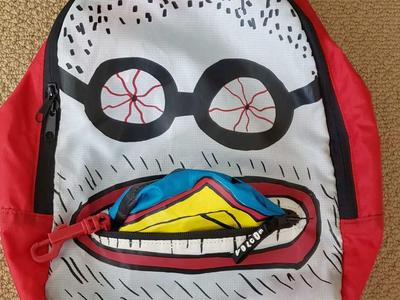 KIDS VOLCOM BACKPACK