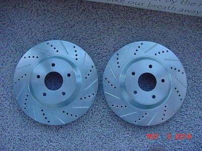 1988 (Z51) CORVETTE - HEAVY DUTY ROTORS. NEW.
