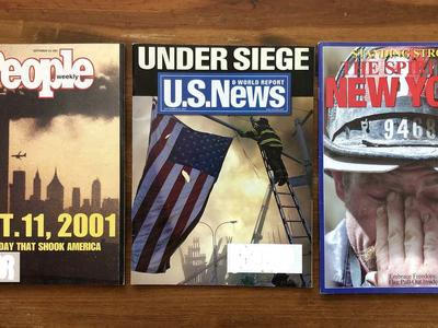 Three Magazines from 2001 Dealing Exclusively with the 911 Attack