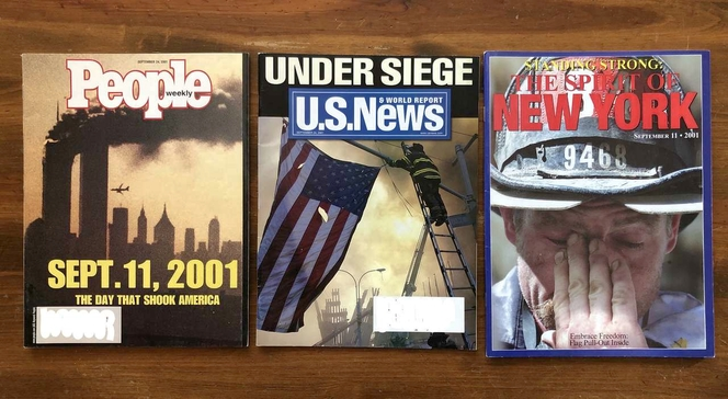 Three Magazines from 2001 Dealing Exclusively with the 911 Attack for sale in Orem , UT