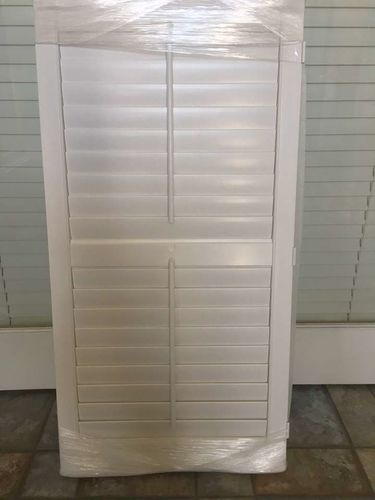 Two White Shutters With 3 Hinges On The Side for sale in Riverton , UT