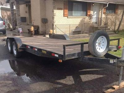 20' Car Trailer 7K Axles