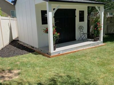Porch Style Storage Sheds (base Price)