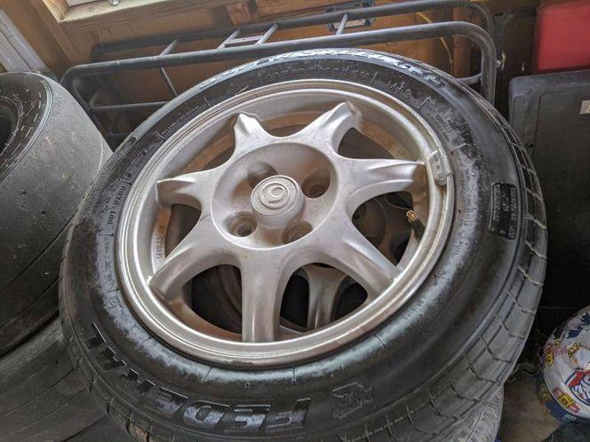 Mazda Miata -2 wheels with tires for sale in Pocatello , ID