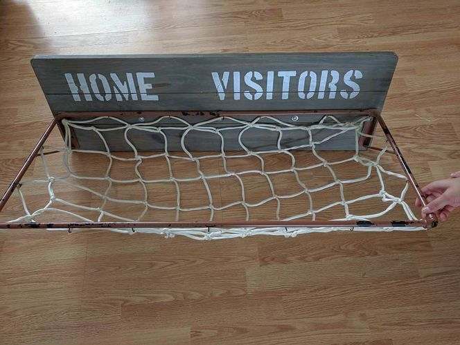 Home Visitors basketball wall sign for sale in West Valley City , UT