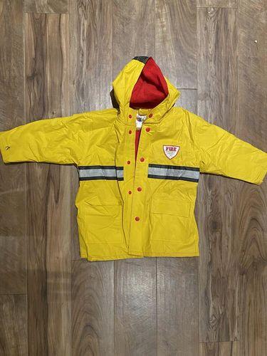 Cute fireman rain coat size 4 for sale in Murray , UT