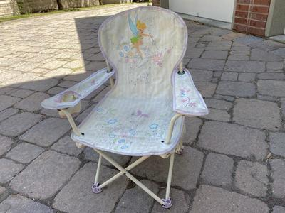 Tinker bell camping chair
