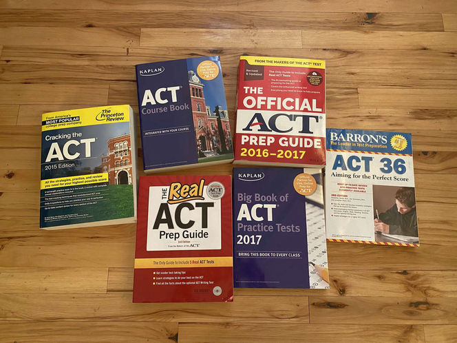ACT Prep Books for sale in Murray , UT