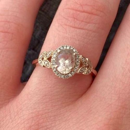 Rose Gold Engagement Ring size 6 for sale in Manti , UT