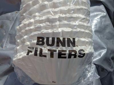 BUNN Commercial Coffee Filters 12-Cup Size unsure on amount 1000+