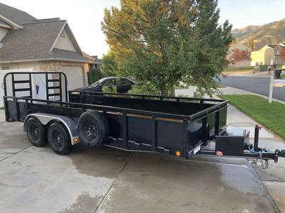 18' X 7' Car Hauler ATV Trailer For Rent