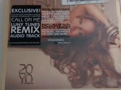 Janet Jackson 20 Y.O. CD set