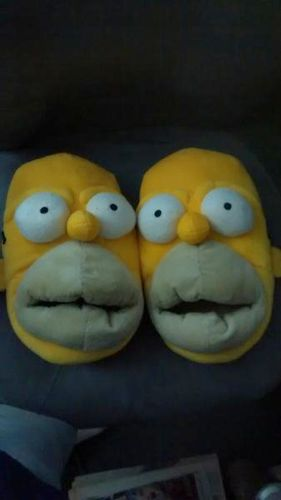Homer Simpson Face Slippers for sale in West Valley City , UT