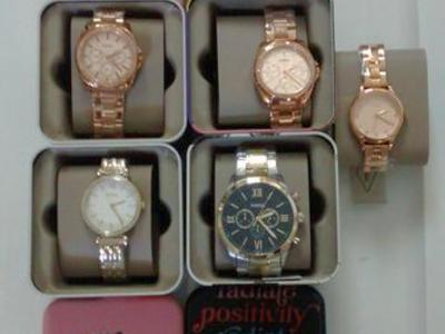 (5) Fossil Watches