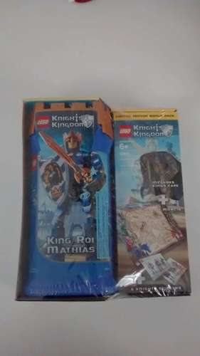 LEGO Knights' Kingdom-King Mathias with Limited Edition Bonus Pack for sale in West Valley City , UT