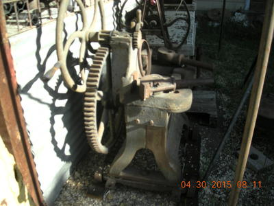Blacksmith Wheelwright tire shrinker and welding machine