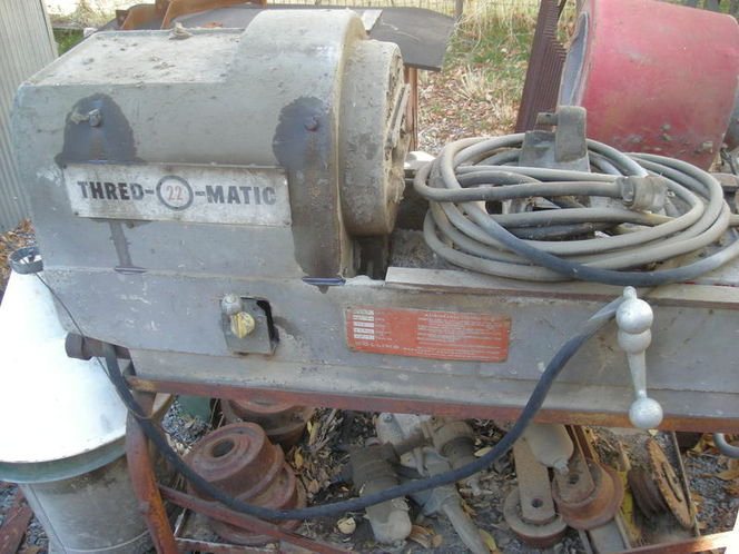 Collins 22A pipe threader Rothenberger for sale in Provo , UT