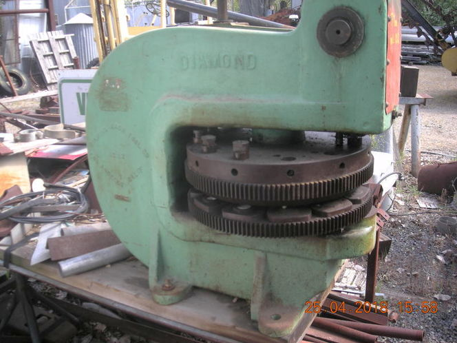 Diamond Hand Turret Punch for sale in Provo , UT