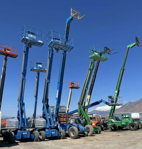 Boomlifts and Reach Telehandler Forklifts for Rent for sale in Springville , UT