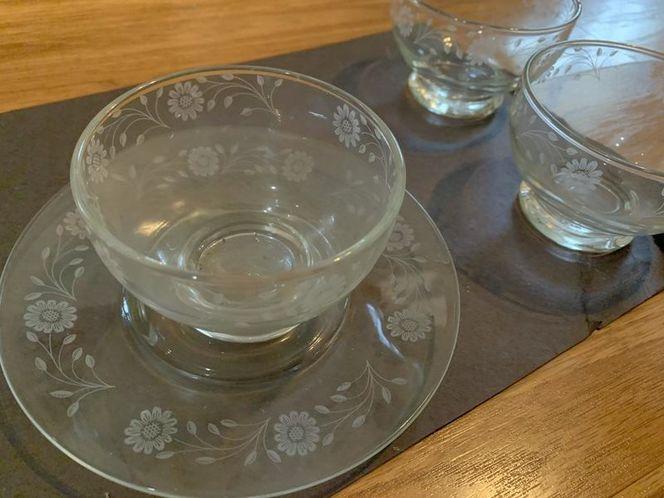 Glass Dessert Dish Set  for sale in South Salt Lake , UT