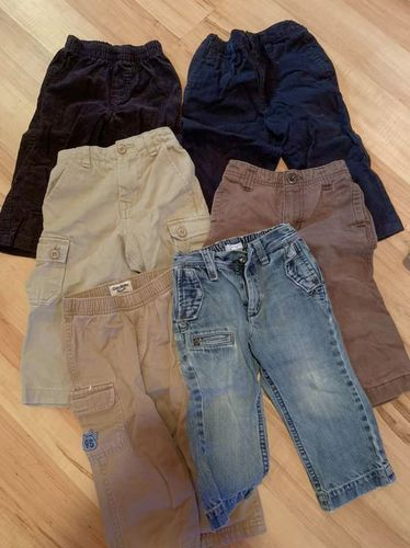 6 Pants And 2 Swimming Trunks For 18-24 Mos for sale in South Salt Lake , UT