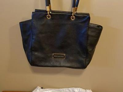 Marc By Marc Jacobs Bentley Leather Tote - Black