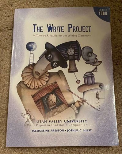 """UVU """"The Write Project"""" English 1000/1005 for sale in Orem , UT"""