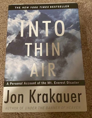 Into Thin Air - Hardcover for sale in Orem , UT