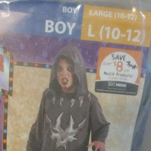 HOODED ROBE FOR HALLOWEEN SIZE 10-12 for sale in Layton , UT