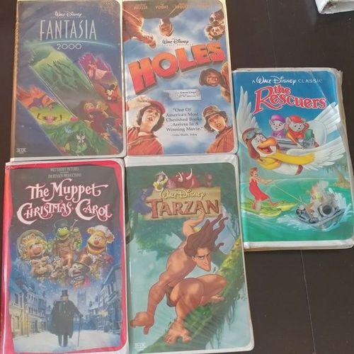 5 DISNEY VHS TAPES FOR SALE for sale in Layton , UT