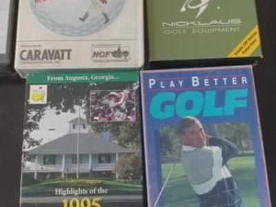 MAKE OFFER ON GOLF VHS TAPES!