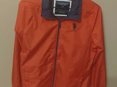 USPA US POLO LIGHTWEIGHT JACKET SIZE MED