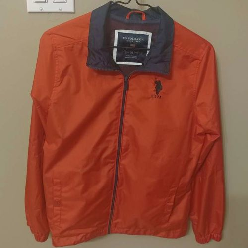 USPA US POLO LIGHTWEIGHT JACKET SIZE MED for sale in Layton , UT