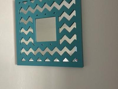Chevron Mirror Decor