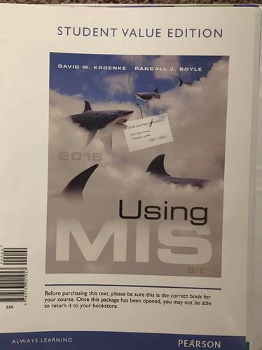 Using MIS 8th Edition for sale in Centerville , UT