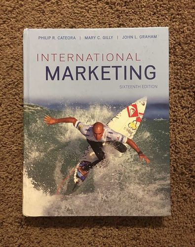 International Marketing 16th Edition for sale in Centerville , UT
