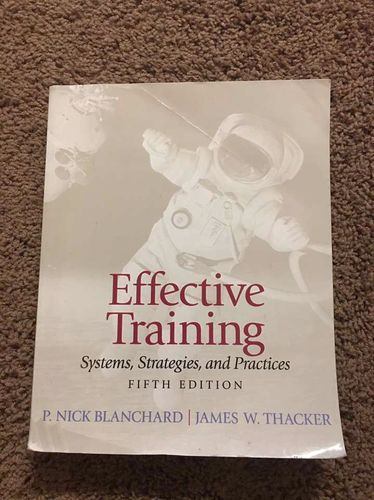 Effective Training: Systems, Strategies, Practices for sale in Centerville , UT