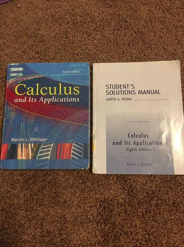 Calculus And It's Applications 8th Edition for sale in Centerville , UT
