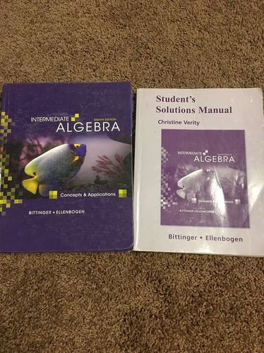Intermediate Algebra 8th Edition for sale in Centerville , UT