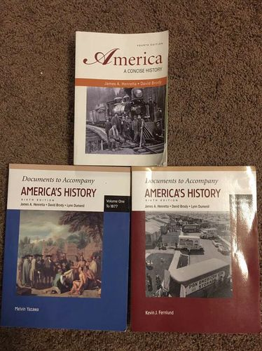 America: A Concise History 4th Edition for sale in Centerville , UT