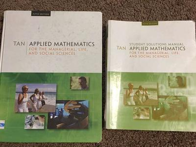 Applied Mathematics 5th Edition