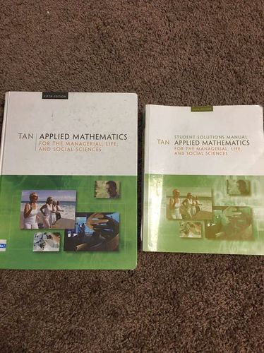 Applied Mathematics 5th Edition for sale in Centerville , UT
