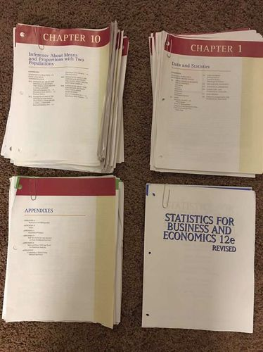 Statistics For Business And Economics  for sale in Centerville , UT